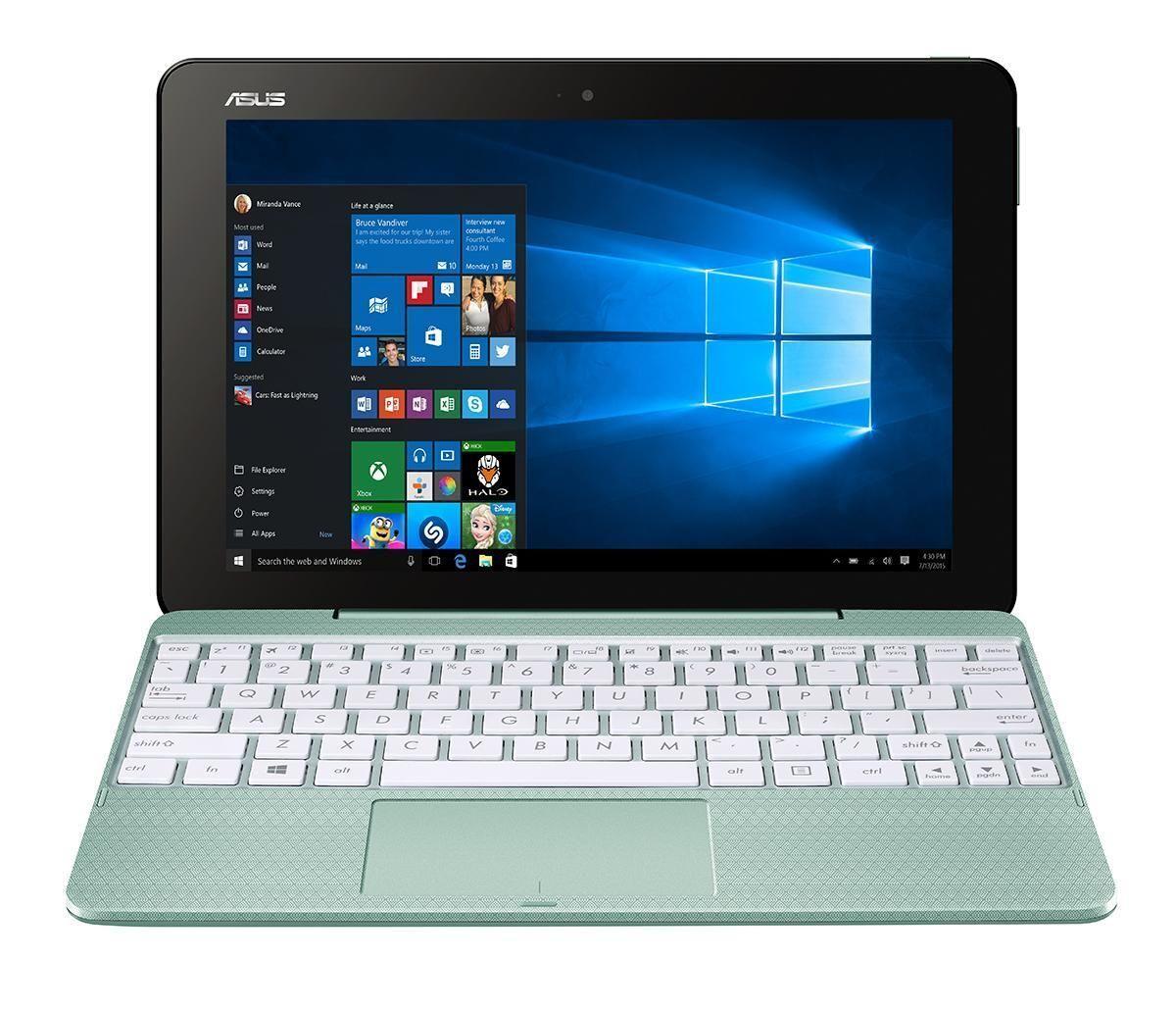 Asus Transformer Book T101HA-GR060T M-Touch 2in1 Z8350 4Gb Hd 64Gb eMMC Windows 10 Mint