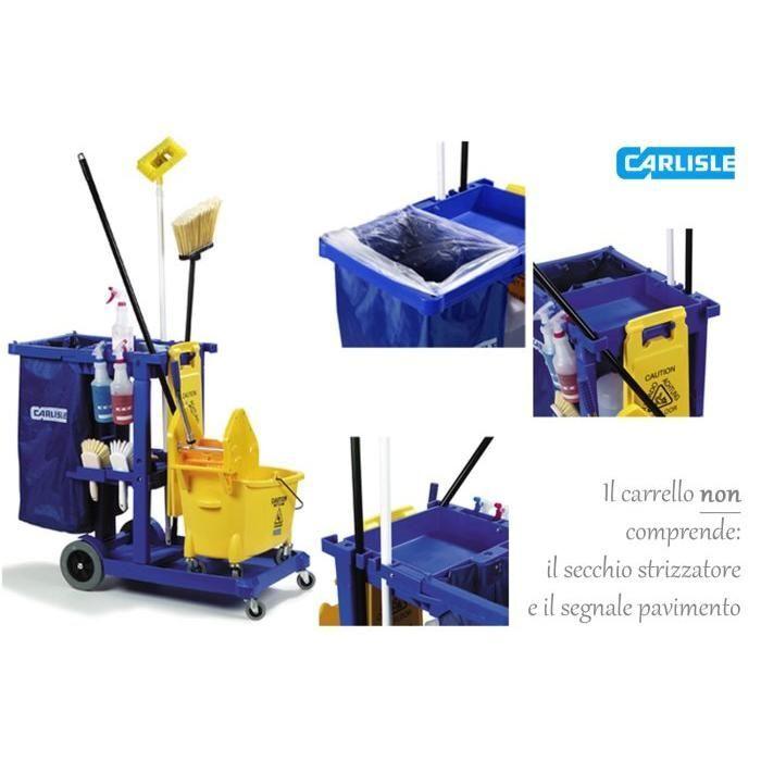 CARLISLE JC1945 Carrello Pulizie blu