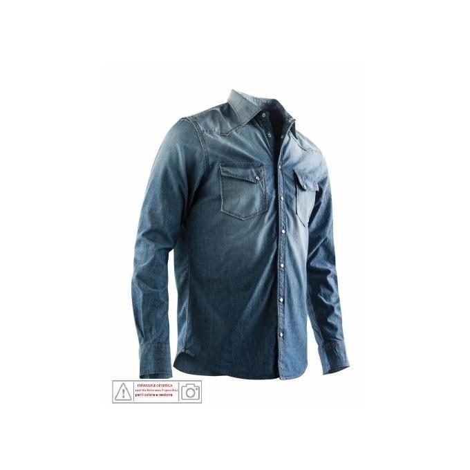 ACERBIS Camicia   Polo Great River taglia XXL Blu
