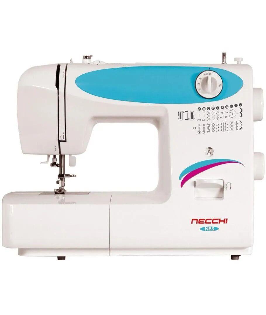 NECCHI N83 Macchina per Cucire Automatica Plastica Bianco 38x30x17cm