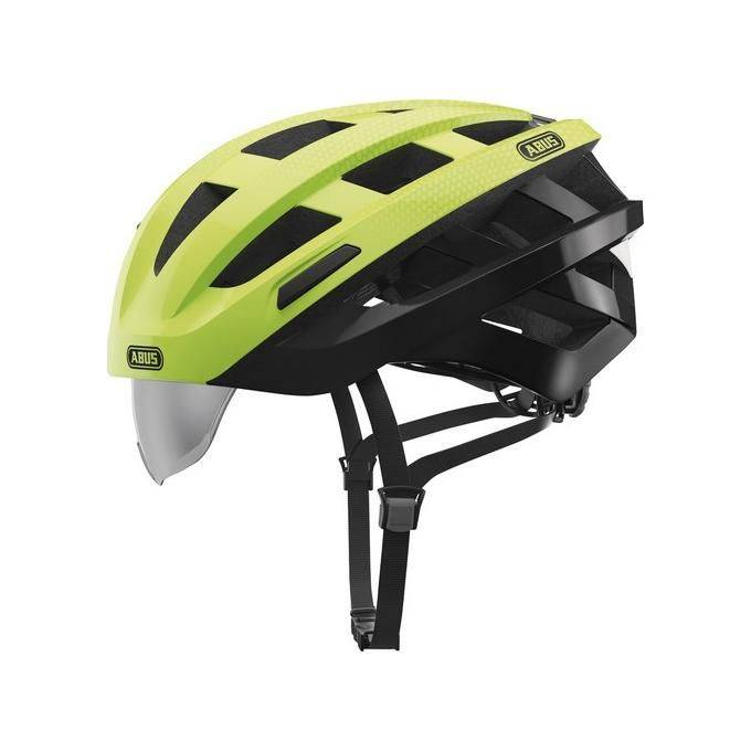 ABUS 13384 8 Casco bici verde comb L taglia 60-63