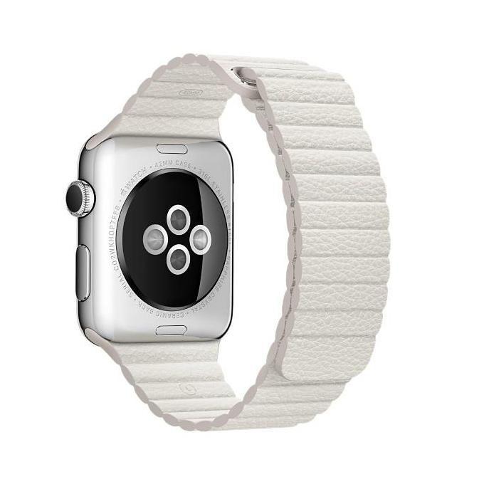 Apple Cinturino per Orologio Bianco per Watch 42mm