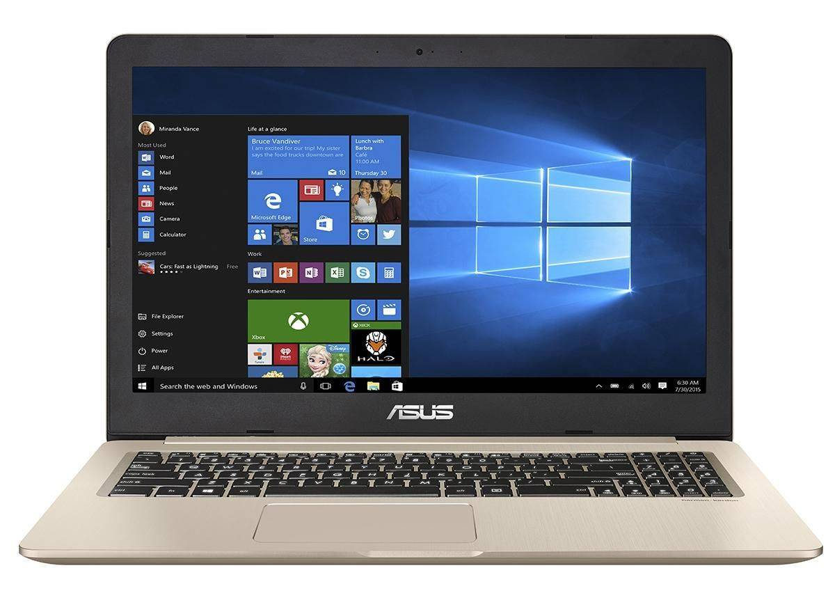 Asus VivoBook Pro N580GD-FY624T i7-8750H 16Gb Hd 1Tb 512Gb Ssd 15,6'' Windows 10 Home