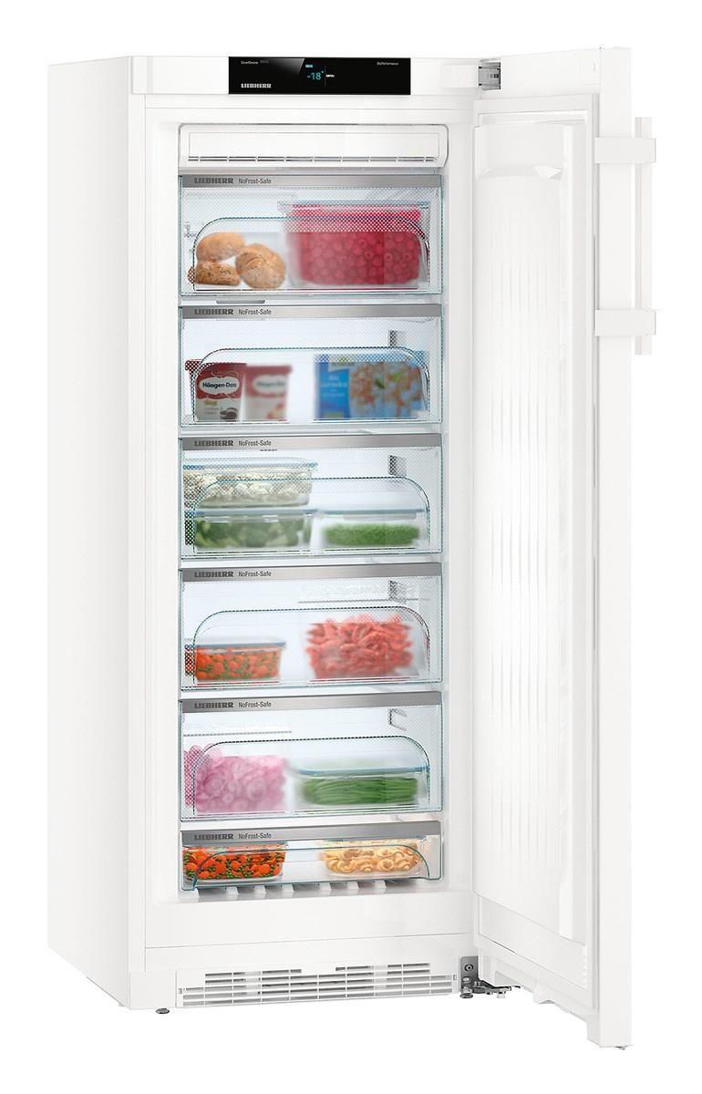 Liebherr GNP 3255 Congelatore Verticale Capacita' 192 Litri Classe energetica A+++ No Frost 145 cm Bianco
