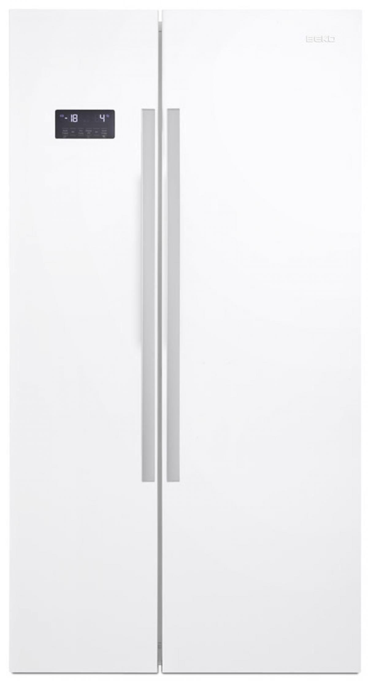 Beko GN1631120S Frigorifero Side by Side Capacita' 635 Litri Classe energetica A+ 182 cm Silver