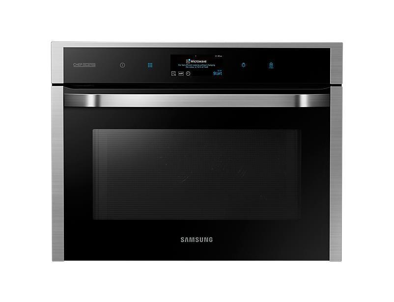 Samsung NQ50J9530BS Forno Microonde Compatto Multifunzione Inox Antimpronta 60cm