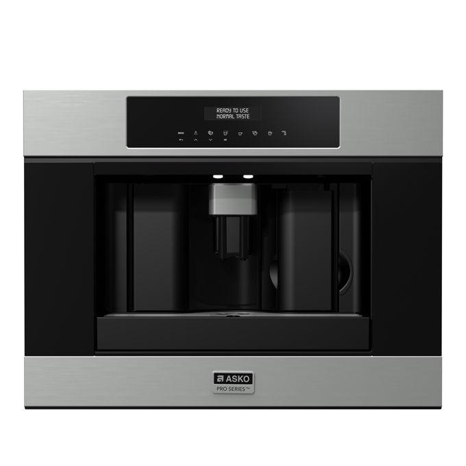 Asko CM 8456 S Macchina da Caffe' da Incasso Pro Series Capacita' 1,8 Litri 15 bar 7 livelli di macinatura 45 cm