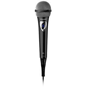 Philips SBCMD150/00 Microfono con Filo, Nero