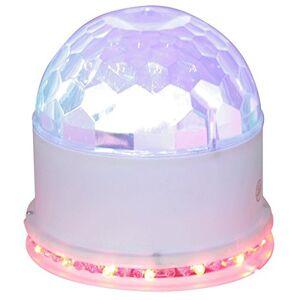 Ibiza UFO-ASTRO-WH - Effetti luci LED RVB a 2 modalit, colore bianco