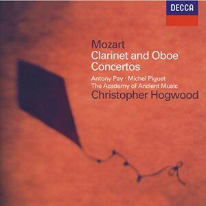Hogwood Christopher( Direttore), Michel Piguet( Oboe), Antony Pay( Clarinetto) Concerto Per Clarinetto I A Major K622,Oboe Concerto In C Major K314