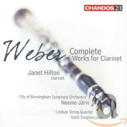 weber comp works for clarinet (2 cd)