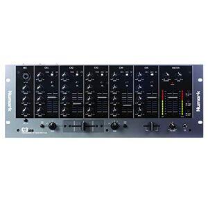 Numark C3USB - Mixer 5 Canali a Rack per DJ con Scheda Audio Interna USB Plug-And-Play, EQ di Canale, Crossfader Sostituibili e Ingressi/Uscite Performance