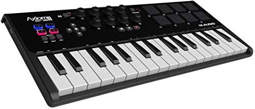 M-Audio Axiom AIR Mini   32 Tastiera Controller MIDI USB Ultra Portatile con 32 Tasti Sensibili alla Dinamica + ProTools   First, Eleven Lite, Ableton Live Lite e AIR Music Tech's Xpand!2