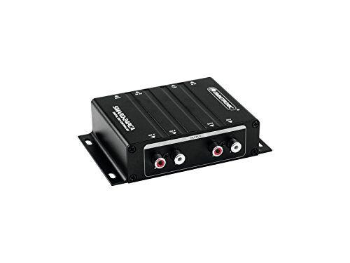 omnitronic smard-24rca - controller digitale dsp in miniatura, software incluso processore di sistema e configurazioni di uscita flessibili per tutti i tipi di stereo e mono-alimentati