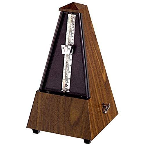wittner 903302 metronomo forma piramidale cassa sintetico colore noce granulato