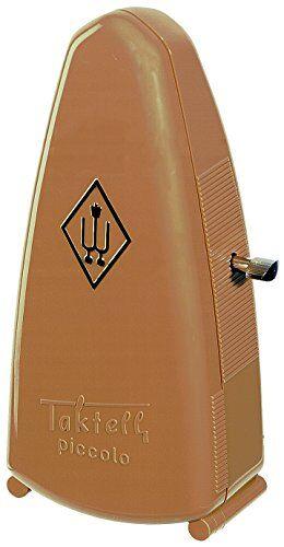 wittner 903083 metronome piccolo cassa sintetico colore marrone chiaro