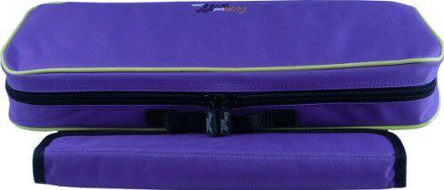 tomandwill 33cn clarineo-cover, custodia con la musica, colore: viola con cordoncino giallo