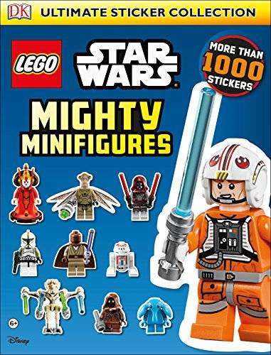 dk lego® star warstm mighty minifigures ultimate sticker collection