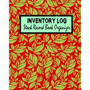 Barry, Ocean Inventory Log Stock Record Book Organizer: Simple Inventory Journal for Business & Personal Use   Stock Record Book Organizer   (Red Cover ) ISBN:9798692689443