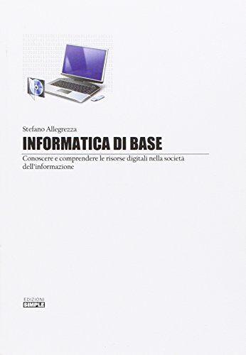 Stefano Allegrezza Informatica di base.