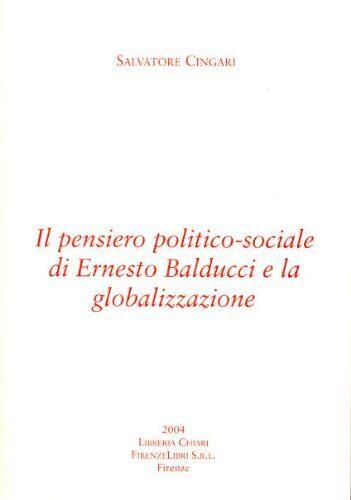 Salvatore Cingari Il pensiero politico-sociale