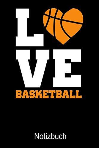 Sport Notizbücher LOVE Basketball Notizbuch: