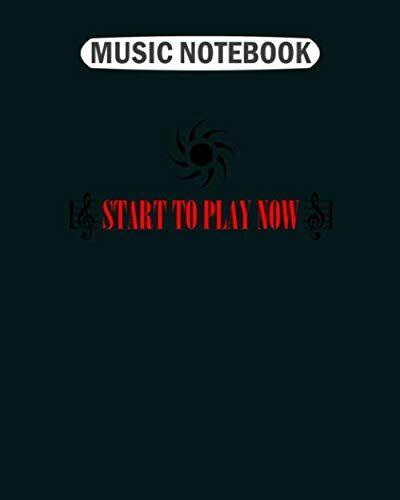 Music Notebook Music Notebook: golden