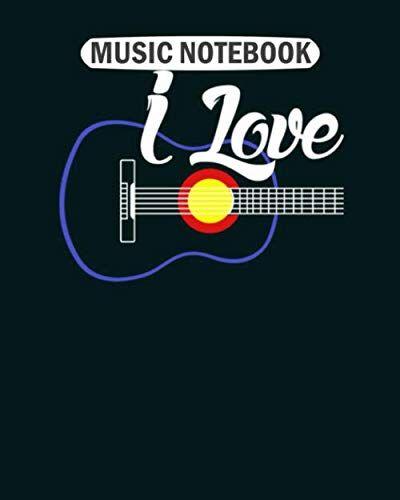Music Notebook Music Notebook: guitar1