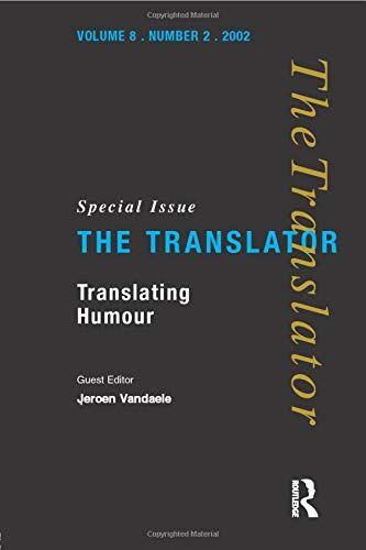 Translating Humour ISBN:9781900650588