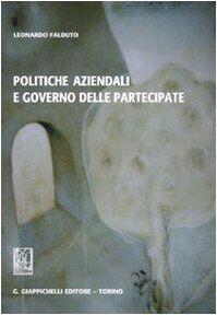 Leonardo Falduto Politiche aziendali e governo