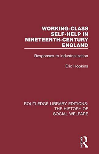 Eric Hopkins Working-Class Self-Help in