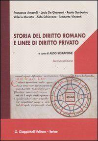Storia del diritto romano e linee di diritto
