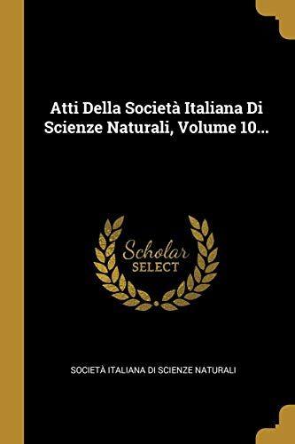 Atti Della Società Italiana Di Scienze