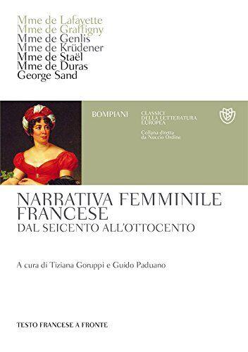 Narrativa femminile francese. Dal Seicento