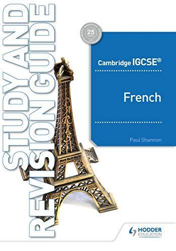 Paul Shannon Cambridge Igcse French Study and