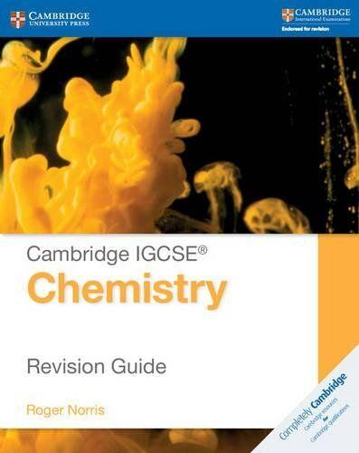 Richard Harwood Cambridge IGCSE® Chemistry