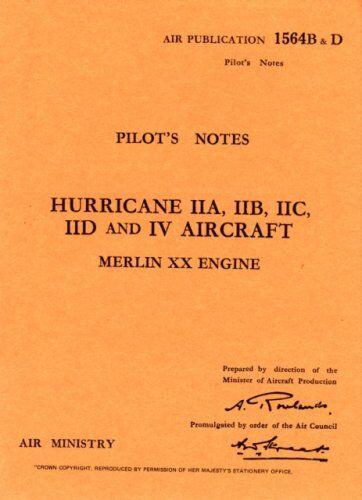 Air Ministry Hawker Hurricane II -pilot's