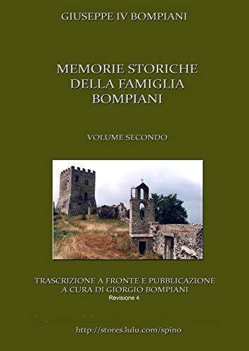 Giorgio Bompiani Memorie storiche della