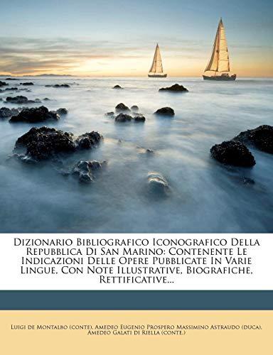 Dizionario Bibliografico Iconografico Della
