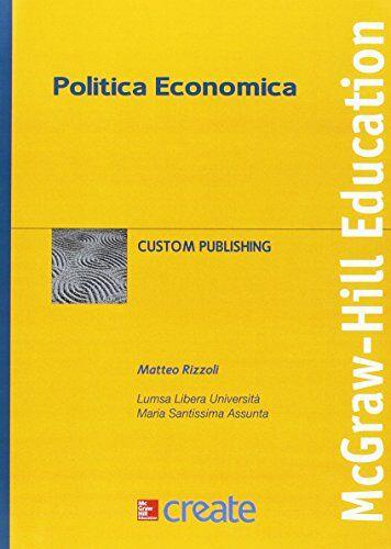 Politica economica ISBN:9781308761725