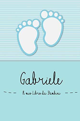 en lettres Bambini Gabriele - Il mio Libro dei