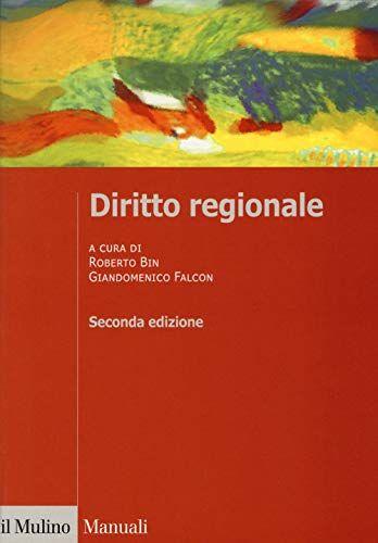 Diritto regionale ISBN:9788815278791