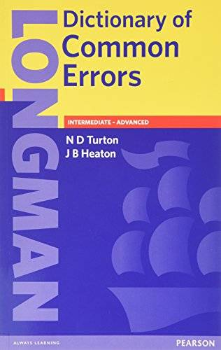 Nigel D. Turton Longman Dictionary of Common