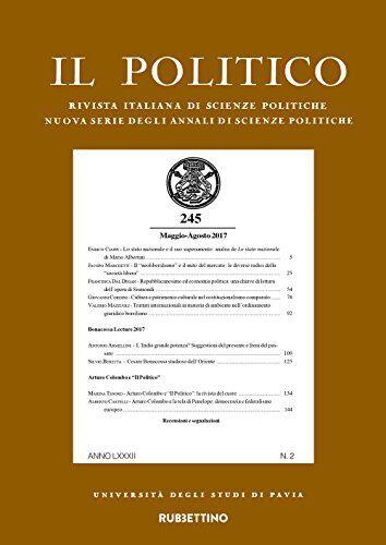Il politico. Rivista italiana di scienze