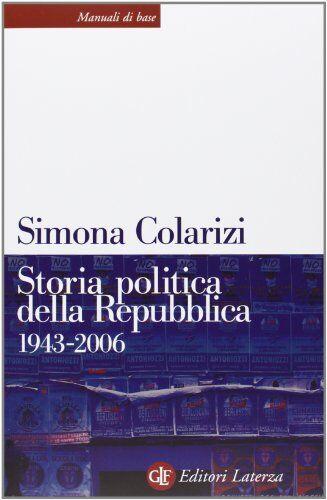 Simona Colarizi Storia politica della