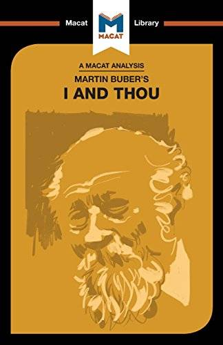 Simon Ravenscroft Martin Buber's I and Thou