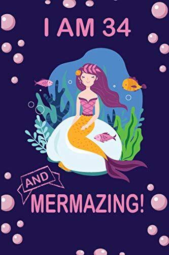 Mermaid Journal Co. I am 34  and Mermazing !: