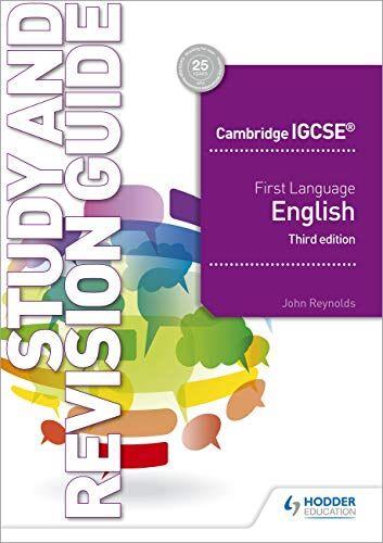 John Reynolds Cambridge IGCSE First Language