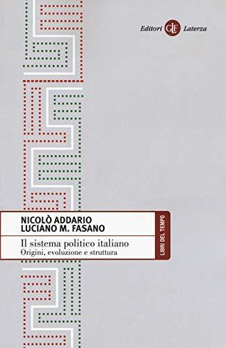 Nicolò Addario Il sistema politico italiano.