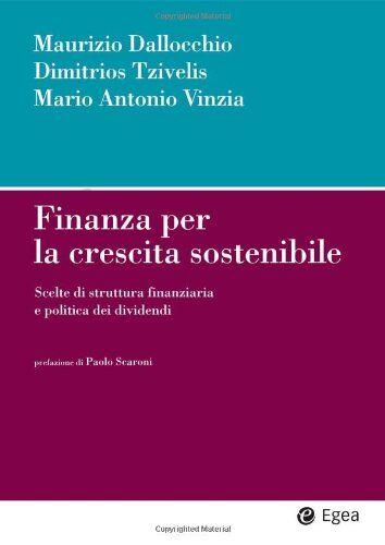 Maurizio Dallocchio Finanza per la crescita